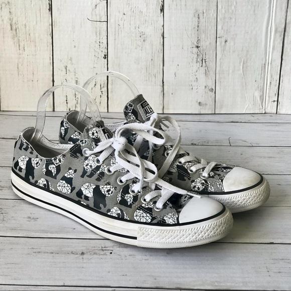 Converse All Star Panda Low Top Sneakers